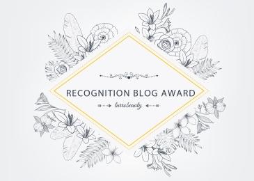 Recognition blog award - larrobeauty