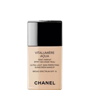 base de maquillaje para piel seca vitalumiere aqua de chanel blog de larrobeauty