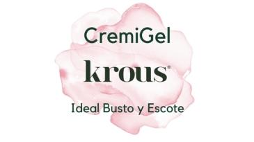 cremigel de krous reafirmante busto y escote