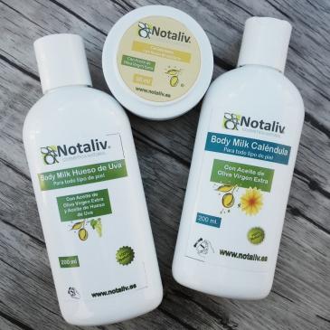 notaliv cosmetica natural bodymilk calendula