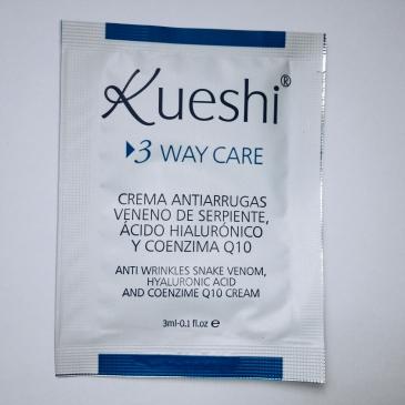 "KUESHI-3 WAY CARE Crema Antiarrugas ""serpiente"" Albaluna Cosmetics"