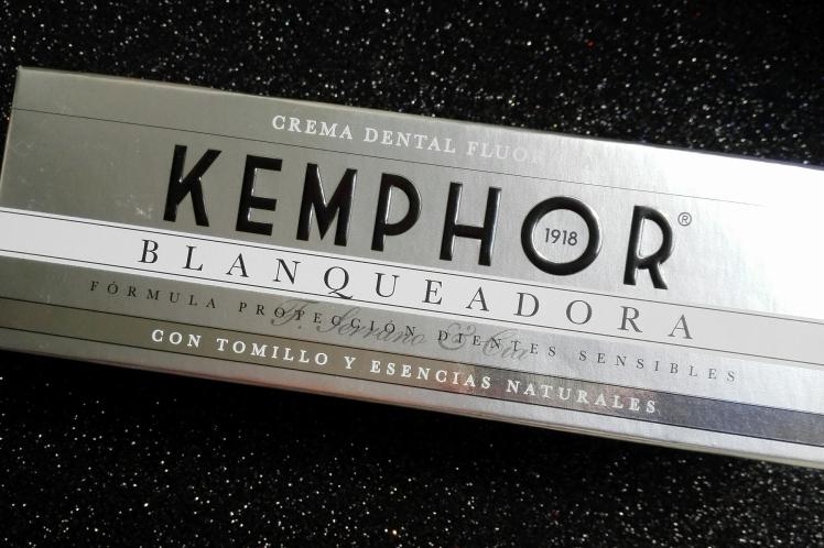 Kemphor pasta dental blanqueadora opinión