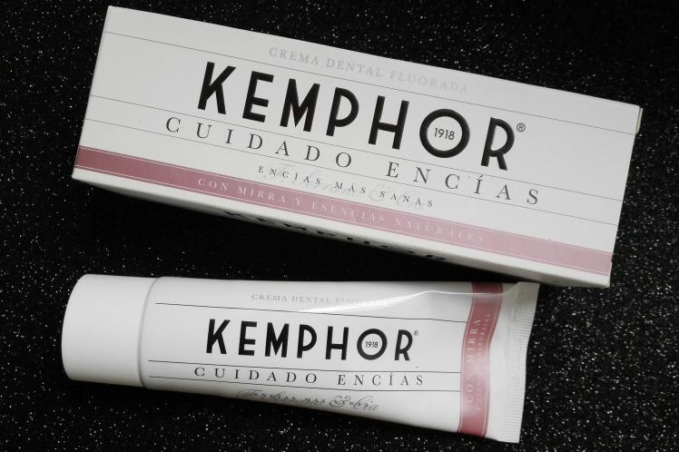 Kemphor pasta de dientes cuidado encías opinión